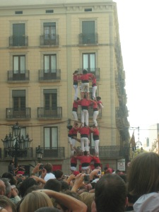 The human towers!
