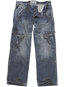 One variation of the cargo jeans