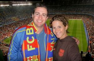 George and I, Barca game
